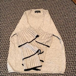 A cashmere sweater from Central Park West new york